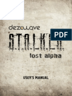 Lost Alpha Game Manual Patch2