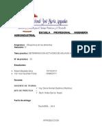 Informe de Bioquimica -03
