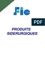 Catalogue Produits Sidérurgiques