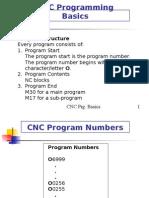 Cnc Programming Basics