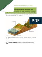 Ficha de Trabalho Geografia_7º Ano_relevo e Rios