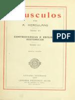 HERCULANO, Alexandre - Opusculos 06