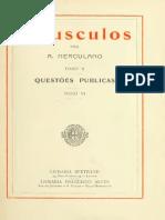 HERCULANO, Alexandre - Opusculos 10