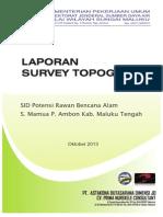 244222645 Laporan Survey Topografi PDF