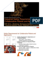 Industrial Safety Requirements for Collaborative ROBOTS and Applications - ERF2014