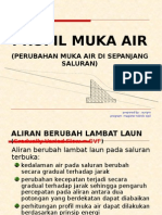 12-Profil Muka Air