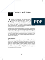 Example contract rider and technical rider indemnity taxes the tour book chapter 3 contracts and riders pronofoot35fo Image collections