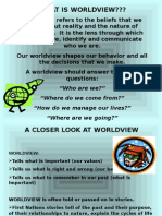 chapter 1- worldview introduction power point