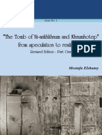 REL Issue No.1 Tomb of Ni-Ankhkhnum-Khnumhotep Revised Edition Part One