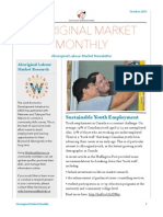 Aboriginal Market Monthly Newsletter - October 2015