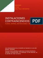 Instalaciones vs Incendios 2012