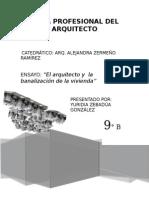 Arquitecto y Sociedad