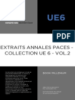 Extraits Annales Paces Collection Ue 6 Vol 2