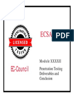 LPTv4 Module 42 Penetration Testing Deliverables and Conclusion