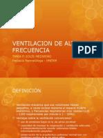 6. Ventilacion de Alta Frecuencia