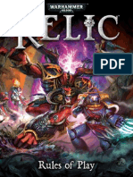 Relic Rulebook