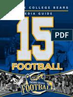 Phoenix College 2015 Football Media Guide