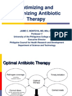 Optimizing and Maximizing Antibiotic Therapy