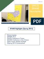 spahe newsletter april 2015