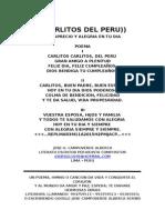 CARLITOS DEL PERU