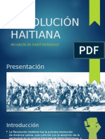 Revolución Haitiana en Saint-Domingue.