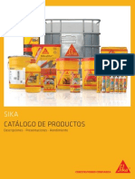 Catalogo Productos Sika