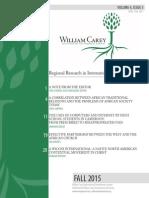 WCIDJ Fall 2015 Volume 4, Issue 3