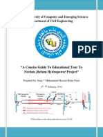 A Concise Guide to Educational Tour to Neelum Jhelum Hydropower Project
