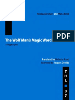 Nicolas Abraham & Maria Torok -The Wolf Man's Magic Word. a Cryptonymy