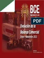 Balanza Comercial Bce
