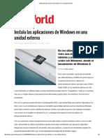 Instala Las Aplicaciones de Windows en Una Unidad Externa