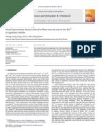 Novel pyrazoline-based selective fluorescent sensor for Zn2+