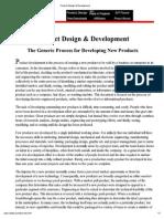 Print - Product Design & Development