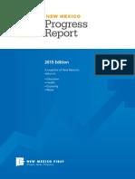 2015 New Mexico Progress Report