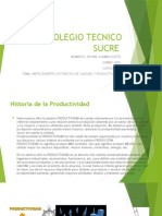 Diapositivas Calidad y Productividad historia