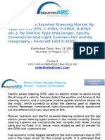 Electric Power Assisted Steering Market By Type (EPHS, HPS, C-EPAS, P-EPAS, R-EPAS etc.) - Forecast (2015-2020)
