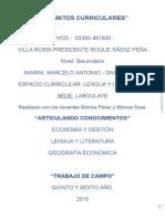 Marcelo Siarini- Formatos Curriculares