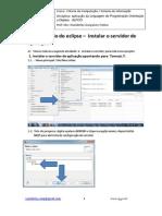 Configuracao No Eclipse - Instalar Servidor de Aplicacao