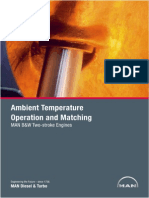 MAN Ambient Temperature Operation and Matching
