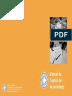 Ejemplo de Manual de Gestión Voluntariado Médicos Del Mundo