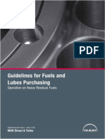 MAN Guidelines for Fuels and Lubes Purchasing