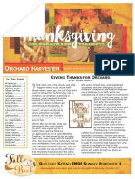 NOVEMBER 2015 Harvester