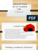 chapter 1-medieval town life vs country life