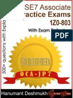 Ocajp Oracle Certified Associat - Deshmukh Hanumant