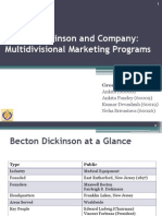 Becton Dickinson and Company