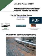 2.- GVR-Diseño de Pavimentos de Concreto Reforzado Con Fibras de Acero-Macaferri-Arequipa-Junio Del 2012