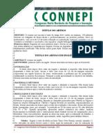 Modelo Artigo Connepi 2015