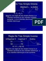 Ejercicios Regla Tres Simple Inversa