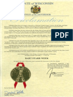 Bart Starr Week