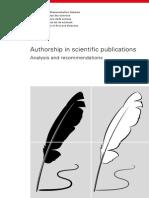 Academies Authorship